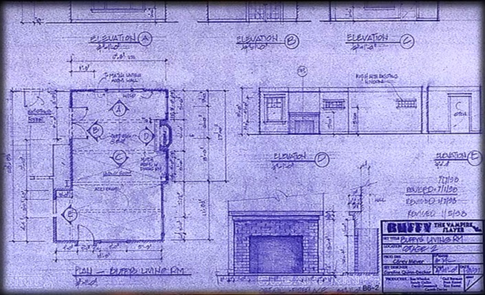 Buffys House Living Room Blueprint Close Up 2