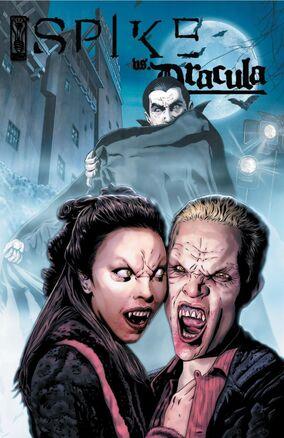 Spike vs. Dracula 2 Cover