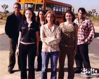 Buffy cast slider