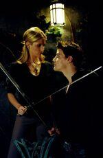 Becoming Buffy vs Angelus