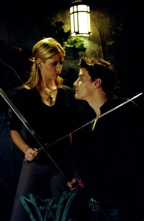 Becoming Buffy vs Angelus