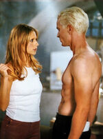 Buffy and spike out of my mind still