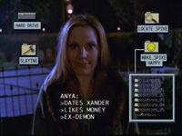 Anya's profile intervention