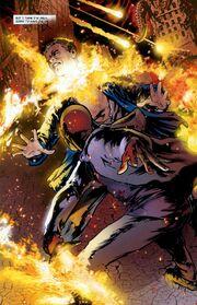 Angel vs Gunn Flaming Sword