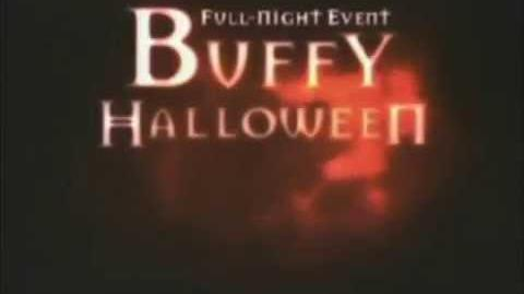 Buffy Promo - Halloween Night (WB - 2000)