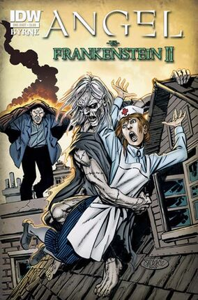 Angel vs Frankenstein II cover
