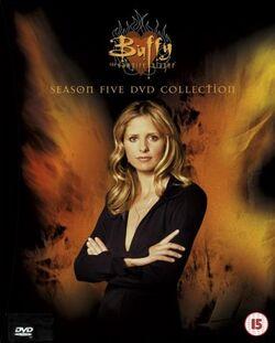 Buffy Seizoen 5 DVD Regio 4