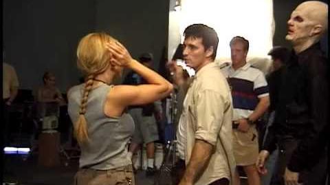 BUFFY-THE WISH-fight scene home movies of Buffy Stunt Coordinator Jeff Pruitt