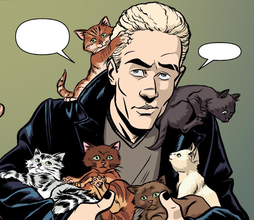 Xander and Spike's cats | Buffyverse Wiki | FANDOM powered ...  Gwen Raiden Comic