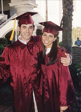 Graduation Xander Cordelia