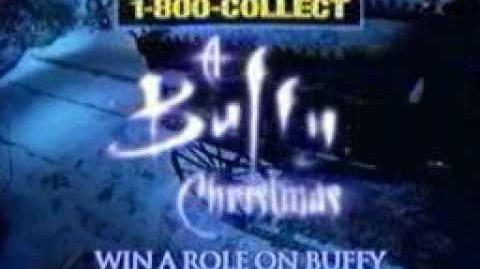 Buffy Christmas Commercial
