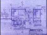 Giles' apartment blueprint