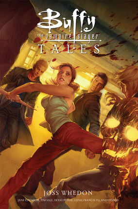 Buffy tales cover