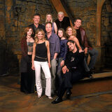 Buffy S5 Joss Whedon and cast