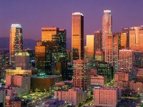 Los Angeles éclairée