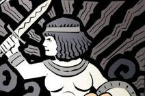 Épée de la Tueuse Aztèque