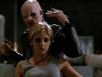 Buffy tuée par le Maître