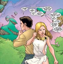 Angel et Buffy chez Crépuscule