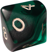 Green-d10-dice