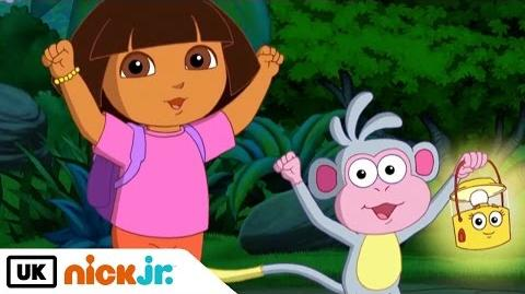 Dora the Explorer Dora's Night Light Adventure Nick Jr. UK-0