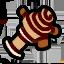 Wooden crank icon