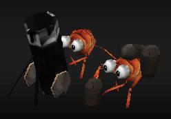 Flea Mortar Team