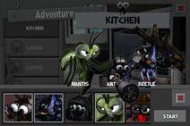 Mantis in the hero select screen