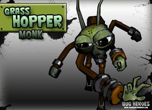 Grasshopper Monk