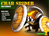 Crab Spider Shield Bearer