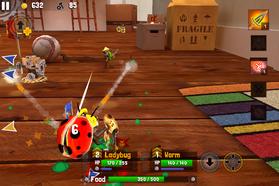 Ladybug fencer gameplay