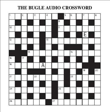 The Audio Cryptic Crossword The Bugle Wiki Fandom Powered By Wikia
