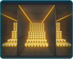 Building gold storage
