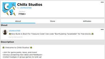 Chillz Studios Build A Boat For Treasure Wiki Fandom