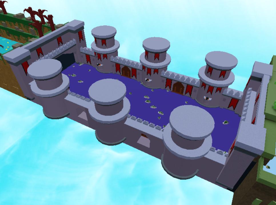 Castle Wall Stage Build A Boat For Treasure Wiki Fandom