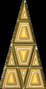 Shell isosceles triangle
