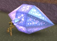Elongated heptagonal bipyramid