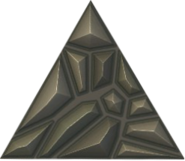 Rubble equilateral triangle