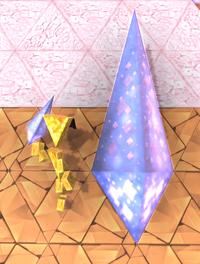 Triangular bipyramid hybrid
