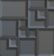 Stone brick panel