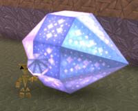 Elongated octagonal bipyramid
