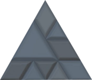 Stone brick equilateral triangle