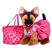 Promise Pets™ German Shepherd Pink Purse Gift Set