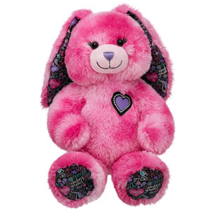 17 in. BFF Heart Bunny