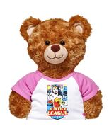 Justice League T-Shirt on Bear