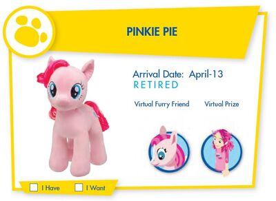 Build a bear Pinkie Pie
