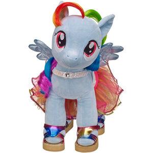 Colourful cutie rainbow dash