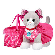 Promise Pets™ Grey Cat Pink Purse Gift Set