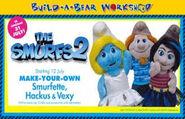 Build a bear smurfs 2 (2)