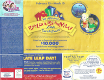 2008 February Calendar (Side 2 with Folded Extra)