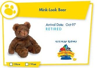 Mink-Look Bear